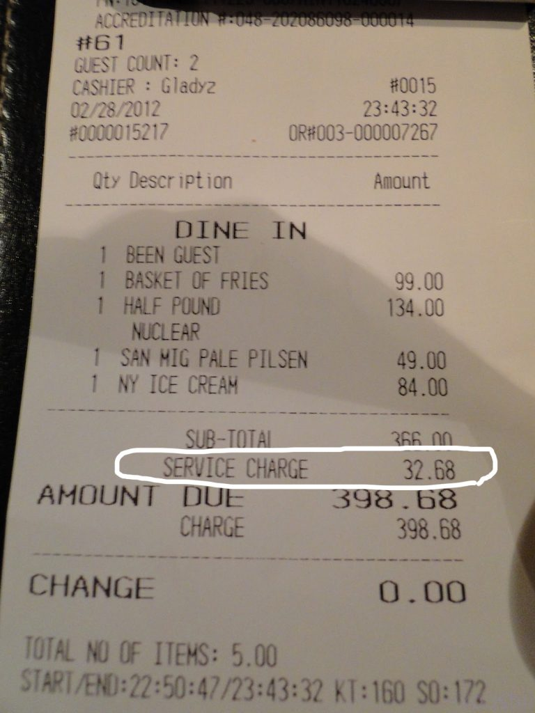 receipt